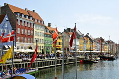 Nyhavn, Copenhagen Royalty Free Stock Photography