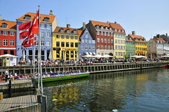 Nyhavn, Copenhagen Royalty Free Stock Photo