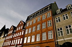 Nyhavn Copenhaghen immagine stock