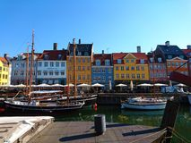 Nyhavn Copenhague Photos stock