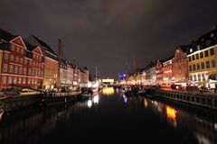 Nyhavn Copenhague Danemark Photos stock