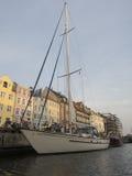 Nyhavn, Copenhague Dinamarca Imágenes de archivo libres de regalías