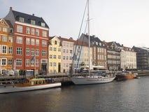 Nyhavn, Copenhague Dinamarca Imagen de archivo