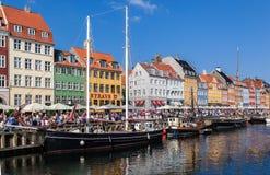 Nyhavn Copenhaguen Denmark Stock Photo