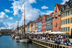 Nyhavn Royalty Free Stock Photo