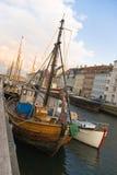 nyhavn de Copenhague photographie stock libre de droits