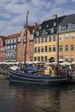 Nyhavn - Köpenhamn - Danmark Royaltyfri Fotografi
