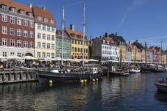 Nyhavn, Kopenhaga, Dani - obrazy stock