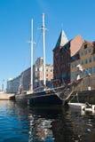 Nyhavn in Kopenhagen Lizenzfreie Stockbilder