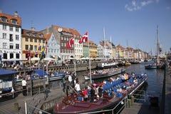 Nyhavn Kopenhagen Royalty-vrije Stock Fotografie