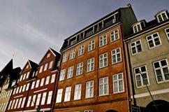 Nyhavn Kopenhagen Stock Afbeelding