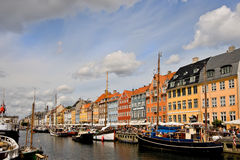 Nyhavn, Kopenhagen Stockfoto
