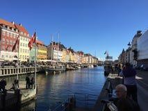 Nyhavn, Kopenhagen, Dänemark Stockfotos