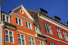 Nyhavn, Kopenhagen, Denemarken Stock Afbeeldingen
