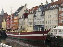 Nyhavn latarniowiec Fotografia Stock