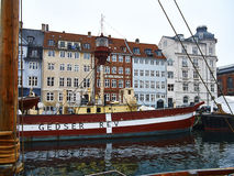 Nyhavn Lightship Royalty Free Stock Photos