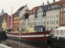 Nyhavn Lightship Stock Photography