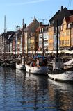 Nyhavn (New Harbor) Coppenhagen Royalty Free Stock Photos