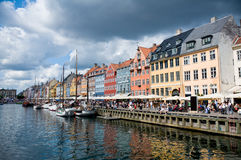 Nyhavn old town in Copenhagen, Denmark Stock Photo