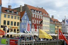 Nyhavn Townhouses Stock Photography