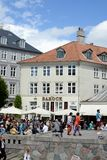 Nyhavn Townhouses Royalty Free Stock Photos