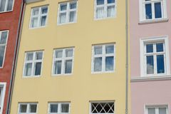 Nyhavn Townhouses Stock Image