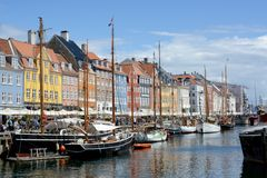 Nyhavn Townhouses Royalty Free Stock Image