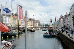Nyhavn Townhouses Royalty Free Stock Images