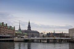 Nyhavnfrontlinie Royalty-vrije Stock Afbeelding
