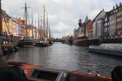 Nyhavnkanaal, Kopenhagen royalty-vrije stock fotografie