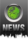 nyheternaöverkant Arkivfoton