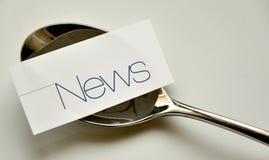 Nyheternabegrepp Arkivfoton
