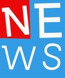 Nyheternaetiketter vektor illustrationer