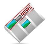 nyheternapapper vektor illustrationer