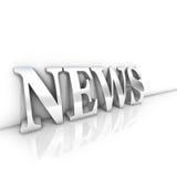 nyheternatext Fotografering för Bildbyråer