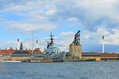 Nyholm κεντρικό Guardhouse Στοκ εικόνες με δικαίωμα ελεύθερης χρήσης