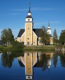 Nykarleby Church Stock Photography