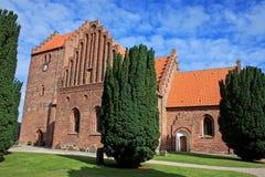Nykobing Sjælland church Royalty Free Stock Images