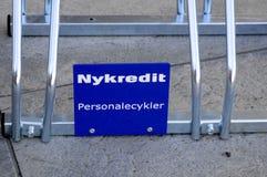 NYKREDIT-GEBÄUDE Lizenzfreie Stockfotos