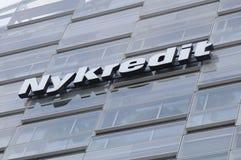 NYKREDIT-GEBÄUDE Lizenzfreies Stockbild