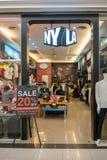 NYLA sklep przy mody wyspą, Bangkok, Tajlandia, Mar 22, 2018 Zdjęcia Stock