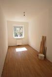 Nyligen renoverat rum Fotografering för Bildbyråer