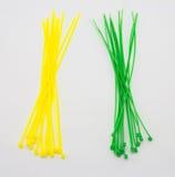Nylon cable ties Royalty Free Stock Photos