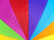 Nylon colorful pattern use for background Stock Images