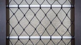 Nylon fence Royalty Free Stock Image