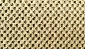 Nylon. Golden nylon pattern close up Royalty Free Stock Images