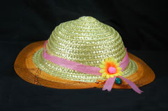 Nylon hat. Hat made of nylon and decorated for ladies wear Royalty Free Stock Images