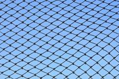 Nylon mesh on blue sky Royalty Free Stock Images