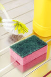 Nylon pan scourer Stock Photos