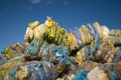Nylon/Plastikwiederverwertung Lizenzfreie Stockbilder
